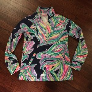 Lilly Pulitzer Don't Leave Me Hanging Popover, XS